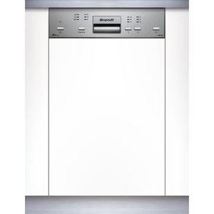 LAVE-VAISSELLE BRANDT VS1010X - Lave-vaisselle encastrable - L45
