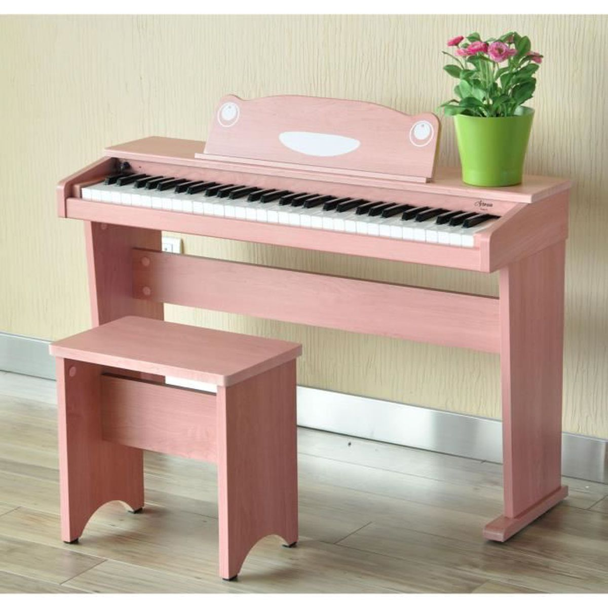 artesia f 61wm keyboard 61 touches au design de piano lectronique rose pas cher achat. Black Bedroom Furniture Sets. Home Design Ideas