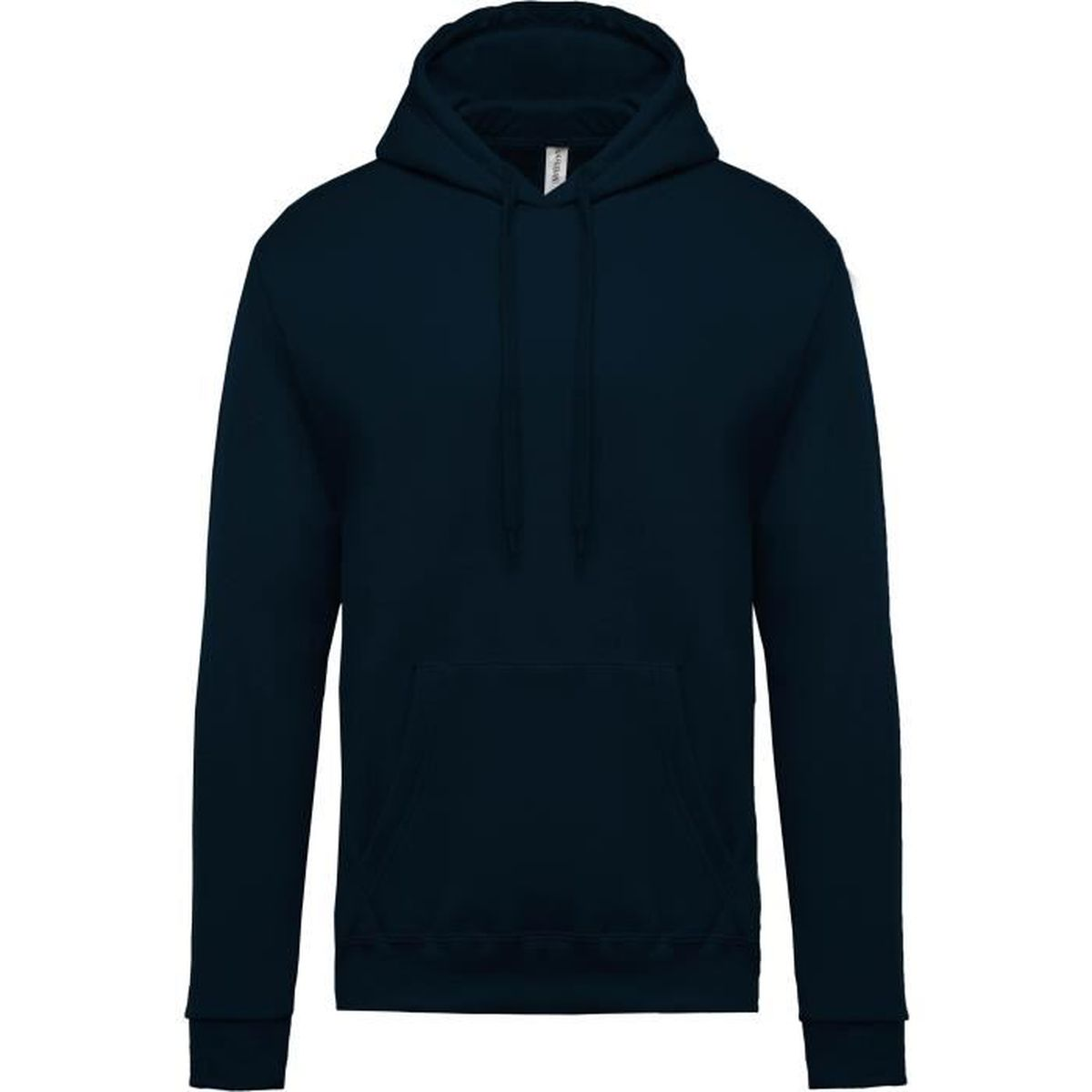 c84360e5671e Sweat-shirt capuche homme Orange Navy - Achat   Vente sweatshirt ...