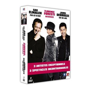 DVD SPECTACLE DVD Coffret best of humour : motherfucker ; pap...