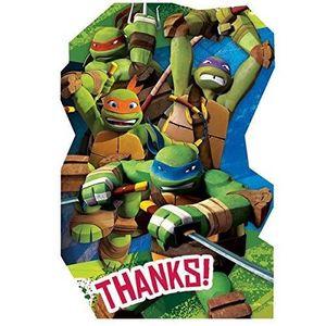 Support à décorer 8 Cartes De Remerciement Enveloppes Inclus - Tortu