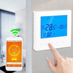 THERMOSTAT D'AMBIANCE Thermostat de chauffage programmable sans fil WiFi