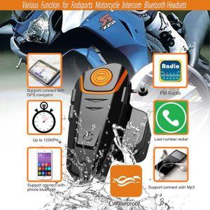 INTERCOM MOTO Moto Intercom Headse Communication Casque Interpho