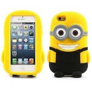 Coque iphone minion silicone