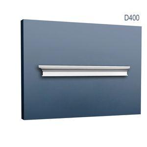 LAMBRIS BOIS - PVC Fronton Encadrement de porte Orac Decor D400 LUXXU
