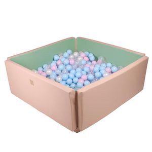 PISCINE À BALLES Meowbaby 800 ∅ 7cm L'ensemble De Balles Plastique