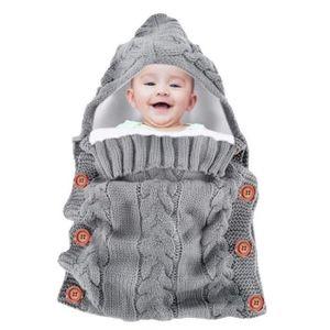 COUVERTURE - PLAID BÉBÉ Sac de couchage de bébé enveloppée Couverture chau