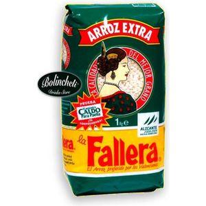 PLAT À PAËLLA Riz rond pour paella La Fallera 1 Kg