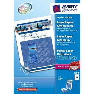 PAPIER PHOTO Avery Zweckform 1298 Paquet de 200 feuilles de …