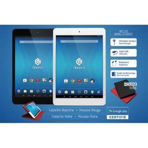 TABLETTE TACTILE DSlide 750 Alu blanc - DualCore - Accès Play Store
