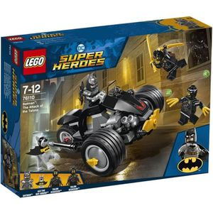 ASSEMBLAGE CONSTRUCTION LEGO® DC Comics Super Heroes 76110 Batman™ et l'at
