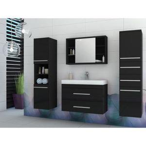 Ensemble MARYLIN - meubles de salle de bain - beige et blanc ...