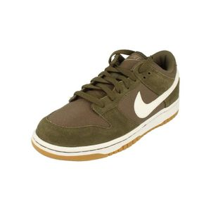 new product 9b0cb eb372 BASKET Nike Dunk Low Canvas Hommes Trainers Aa1056 Sneake