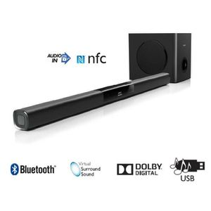 BARRE DE SON PHILIPS HTL3110B Barre de son 2.1 bluetooth NFC