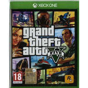 JEU XBOX ONE Xbox One Grand Theft Auto V - GTA V