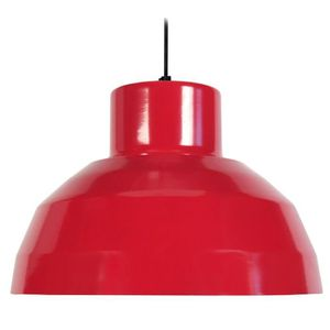 LUSTRE ET SUSPENSION CAMPANA,  14111; Rouge  _ Luminaire, Suspension