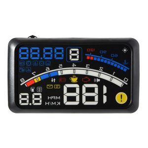 AFFICHAGE PARE-BRISE F4 Compteur vitesse GPS Affichage Tête Haute HUD -