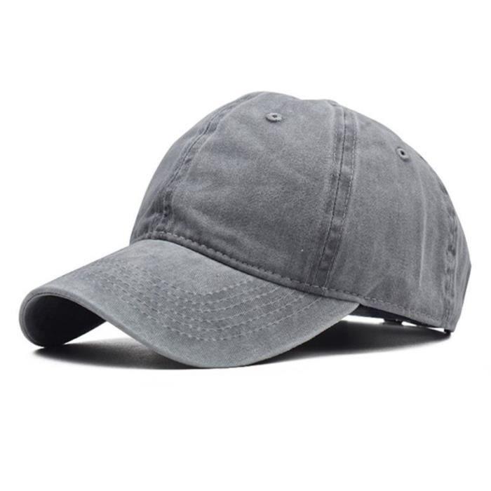 Casquette de Baseball en coton délavé pour enfants, chapeau de couleur Pure, style Hip Hop pour garçons et filles [AC1B792]