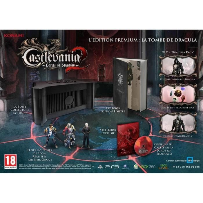 JEU PS3 Castlevania Lords Of Shadow 2 Collector PS3