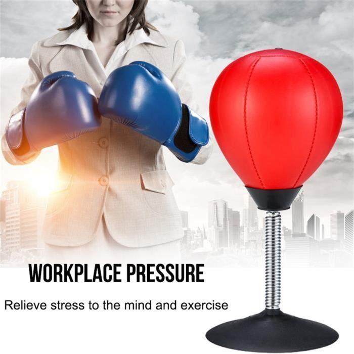 Le sac de frappe de bureau - le stress de Buster de balle soulagent la balle de frappe de boxe P4553