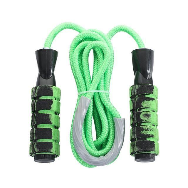 Corde à sauter équipement d'exercice de remise en forme exercice réglable perte de poids exercice à domicile gym-vert