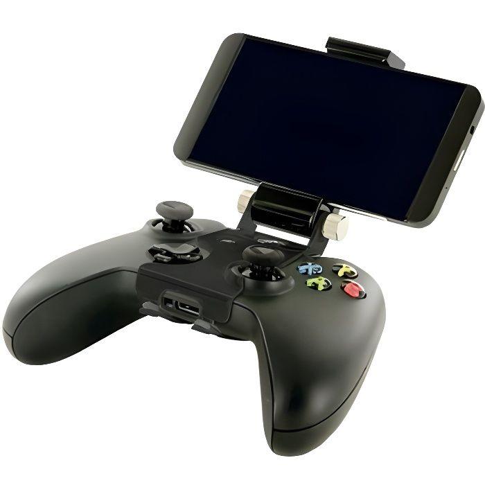 CABLING® Support TéLéPhone Manette Xbox One, ContrôLeur Clip Phone Pliable en Plastique Pince De Jeu pour Smartphone, Dossier De