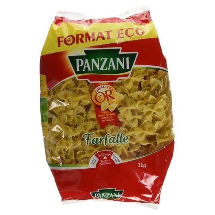 Panzani Farfalle 1Kg (lot de 3)
