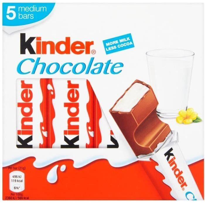 Mini chocolat pour enfant avec sachet de céréales95 g 201
