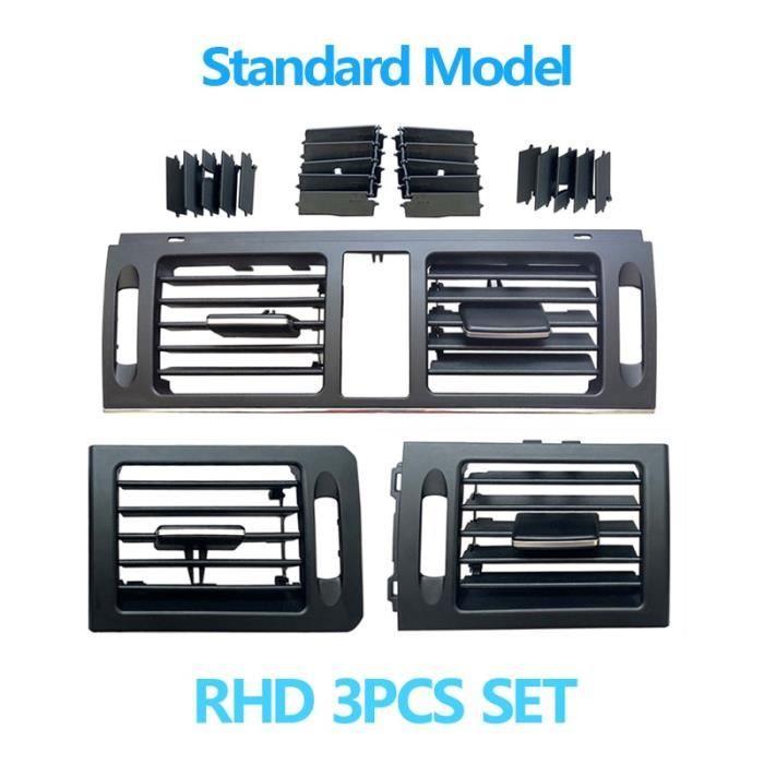 Filtres à air,RHD Grille de ventilation pour climatiseur de tableau de bord, pour Mercedes Benz W204 classe - Type RHD Standard Set