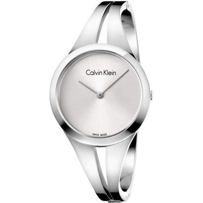 Calvin Klein addict K7W2M116 Montre Bracelet pour femmes Bracelet Manchette
