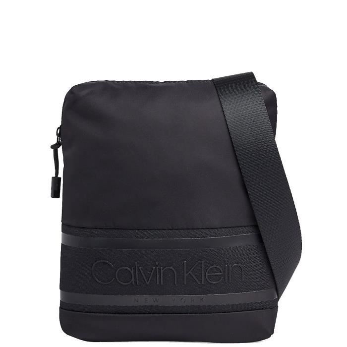 Sacoche bandoulière Calvin Klein ref_48833 Noir 22*25*3