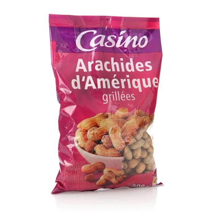 MAITRE PRUNILLE Arachides en coque - Grillées - 500 g