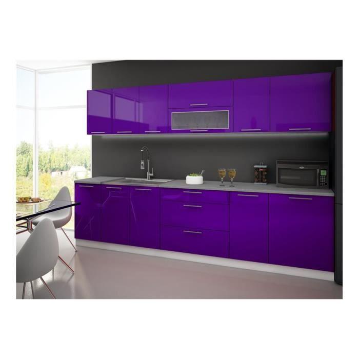 Cuisine complète LYDIA 300cm - Violet