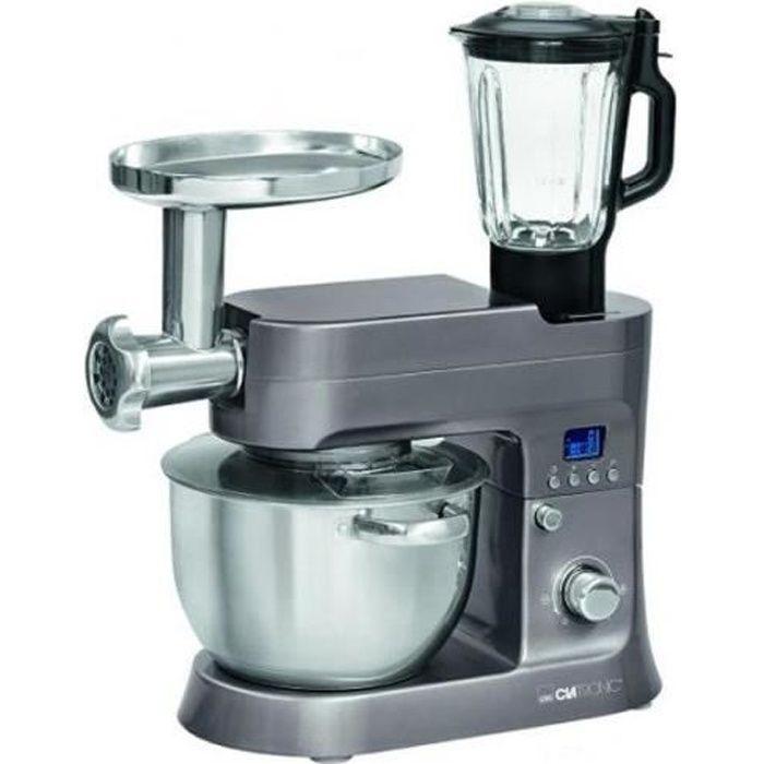 Robot culinaire Clatronic 1200W KM 3674 (titan) U