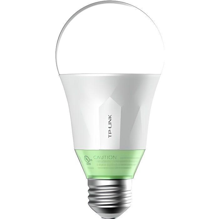 TP-LINK Ampoule LED LB110 connectée Wi-Fi E27 60 W avec variation de l'intensité lumière blanche