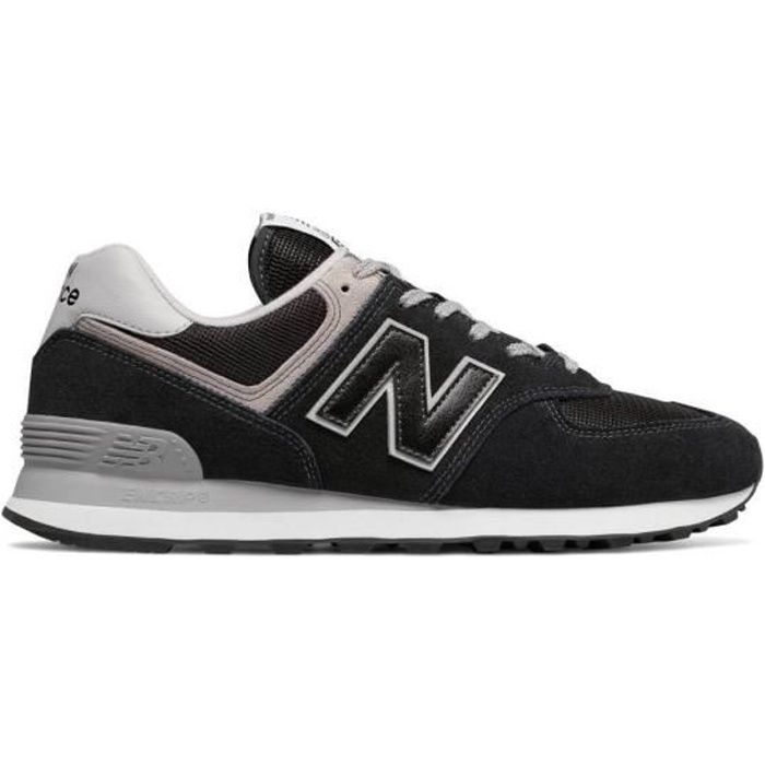 NEW BALANCE Baskets Collection 574 Noir Mixte