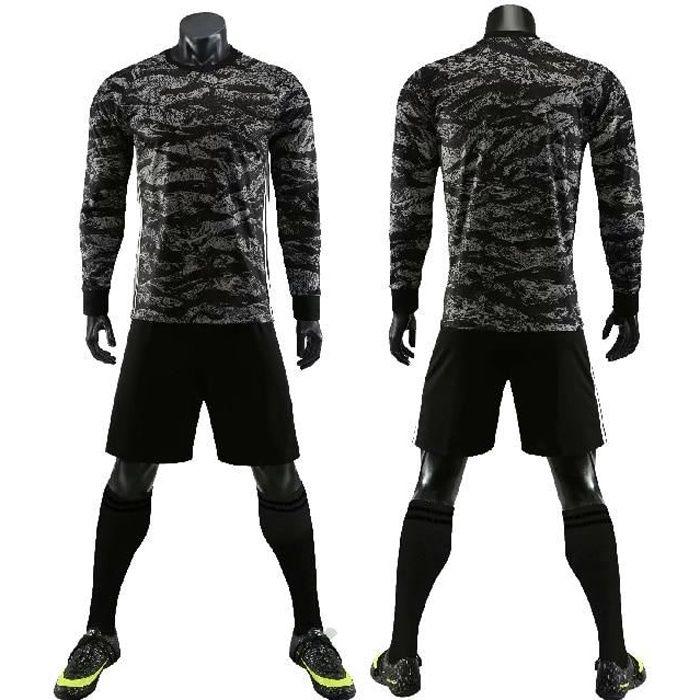 Ensemble de maillot de football nouveau uniforme de gardien de but de football hommes enfant uniforme de Football à manches longues