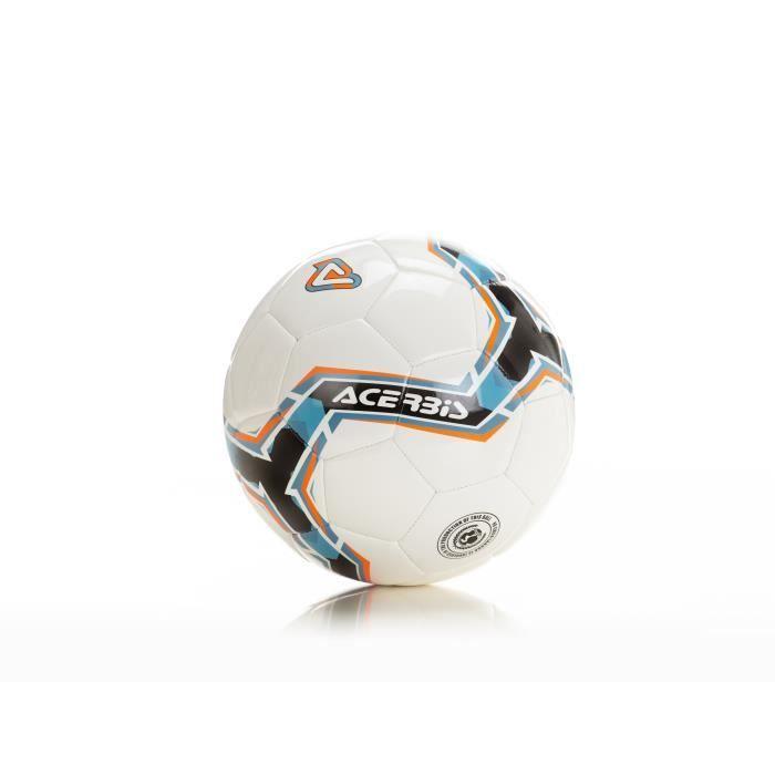 Lot de 5 ballons de football Acerbis Joy 350 - noir/bleu/orange - Taille 5