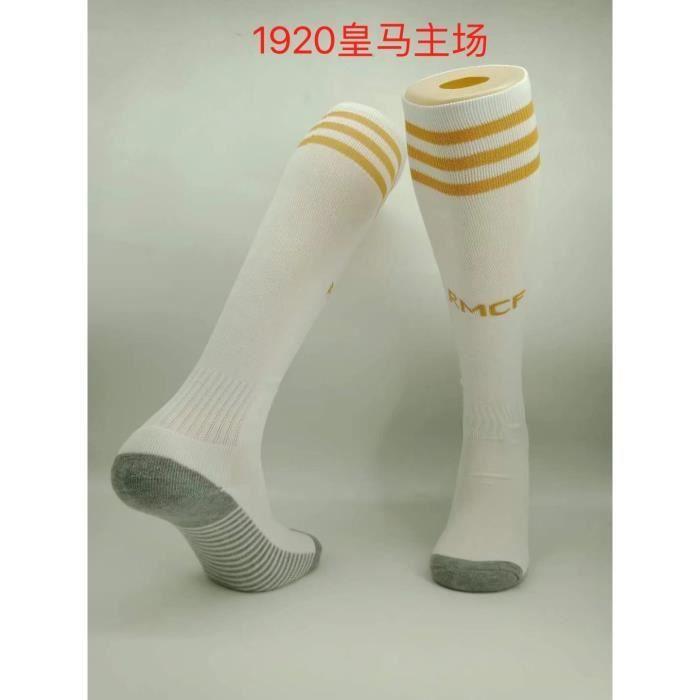 Silver562021 Barca Real Madrid Liverpool chaussettes bas de serviette pour hommes et femmes chaussettes de football antidérapantes