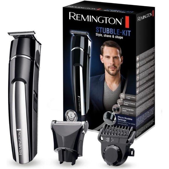 Remington MB4110 Tondeuse Multifonctions Beard Trimmer Tondeuse Barbe Rasoir Electrique Grille, 25 Hauteurs Coupe, Lavable