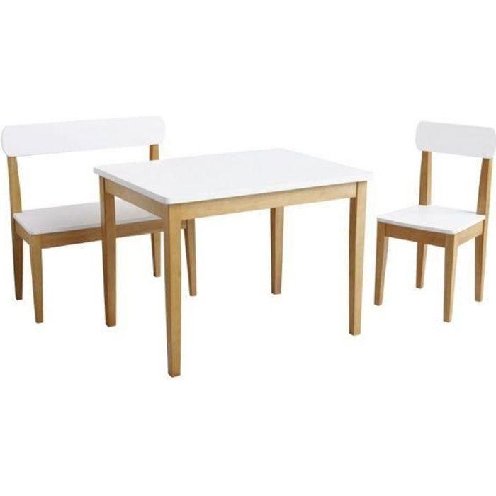 Set table + chaise + banc Roba 2018