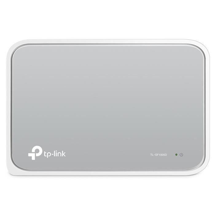 TP-LINK TL-SF1005D, Commutateur de réseau non géré, Full duplex