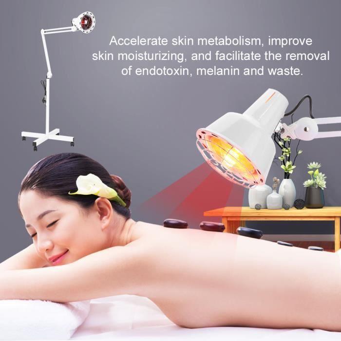 Lampe à Infrarouge Sur Pied, Lampe Infrarouge Massage Thérapie pour Soulagement de Douleur ABI0