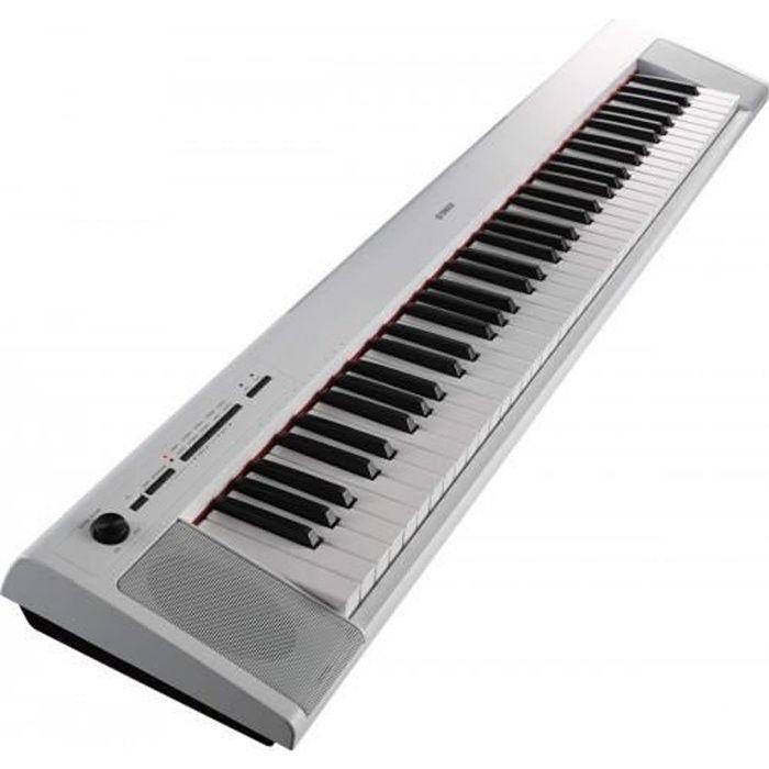Yamaha NP-32 blanc - Piano numérique 76 touches