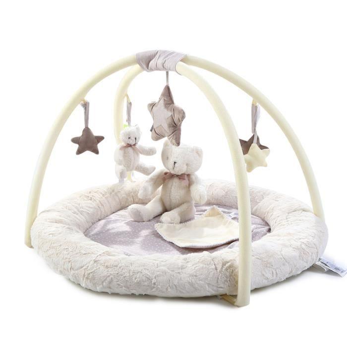 TAPIS ÉVEIL - AIRE BÉBÉ  Tapis pour le nouveaux-né du Ours Tapis de bébé c