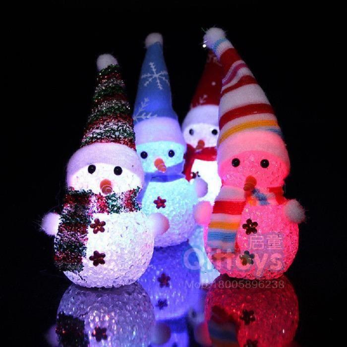 Anges et bonhommes de neige lumineux Suspendu Décorations de Noël Ruby Angel