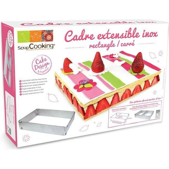 Dimension gateau rectangulaire 12 personnes