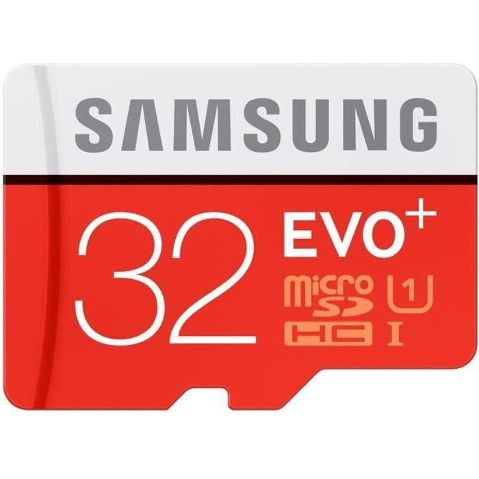 carte mémoire 32 go Samsung Micro SD Evo Plus 32Go   Achat / Vente carte mémoire