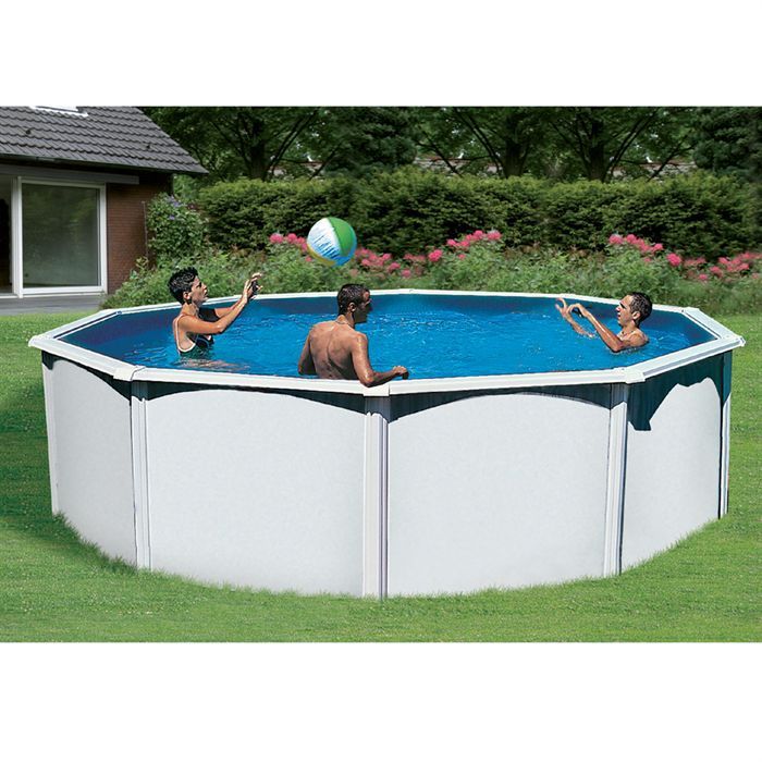 Piscine trigano saphir blanche achat for Piscine tubulaire occasion