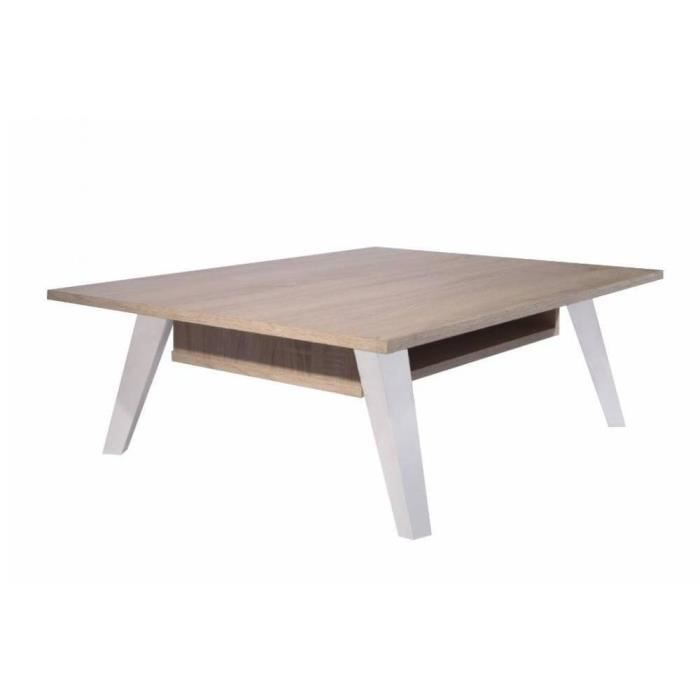 Table basse design scandinave prism 1 allonge achat - Table basse design scandinave ...